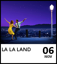 Booking link for La La Land on 6 November 2020
