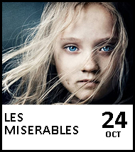 Booking link for Les Miserables on 24 October 2020