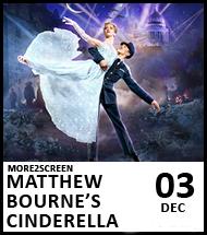 Booking link for Matthew Bourne's Cinderella on 3 December 2020