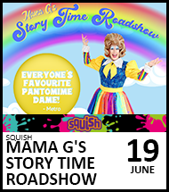 Booking link for Mama G on 19 June 2021