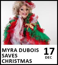 Booking link for Myra DuBois Saves Christmas on 17 December 2020