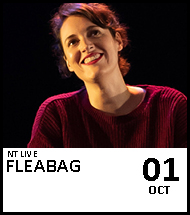 Booking link for NT Live: Fleabag on 1 October 2020