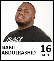 Booking link for Nabil Abdulrashid on 16th September 2021