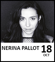 Booking link for Nerina Pallot on 18 October 2021