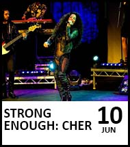 Booking link for Strong Enough: Cher on 10 June 2022