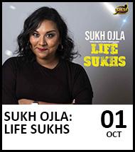 Booking link for Sukh Ojla on 1 October 2021