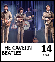 Booking link for The Cavern Beatles on 14 October 2022