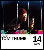 Booking link for Tom Thumb on 14 November 2021