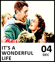 Booking link for It's A Wonderful Life on 4 December 2020