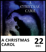 Booking link for A Christmas Carol on 22 December 2020