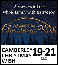 Booking link for A Camberley Christmas Wish from 19-21 December 2020
