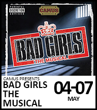 Booking link for Bad Girls The Musical on 4 to 7 May 2022