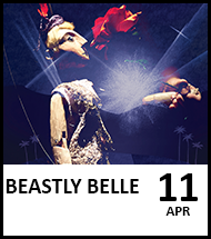 Booking link for Beastly Belle on 11th April 2021