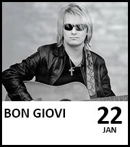 Booking link for Bon Giovi on 22 January 2021