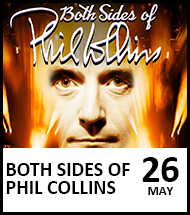 Booking link for Phil Collins on 26 May 2022