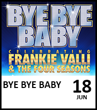 Booking link for Bye Bye Baby on 18 June 2021