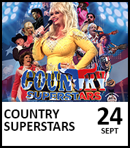 Booking link for Country Superstars – Dolly and Friends on 24 September 2021
