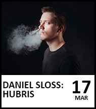 Booking link for Daniel Sloss on 17th March 2021