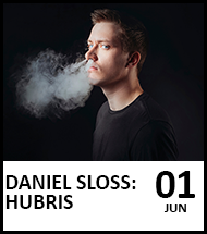 Booking link for Daniel Sloss on 1st June 2021