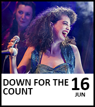 Booking link for Down for the Count on 16th June 2022