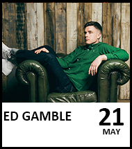 Booking link for Ed Gamble on 21 May 2021