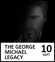 Booking link for The George Michael Legacy on 10 September 2021