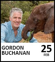 Booking link for Gordon Buchanan on 25 February 2021