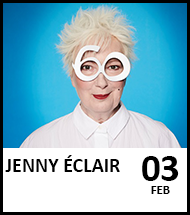 Booking link for Jenny Éclair
