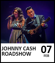 Booking link for Johnny Cash Roadshow on 7 February 2021