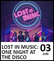 Booking link for Lost in Music on 3 June 2021