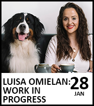 Booking link for Luisa Omielan on 28 January 2021