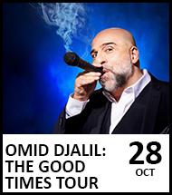 Booking link for Omid Djalil on 28 October 2021