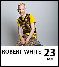 Booking link for Robert White on 23 January 2021