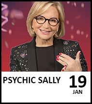 Booking link for Psychic Sally on 19 January 2021