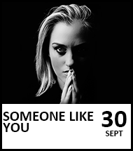 Booking link for The Adele Songbook on 30 September 2021