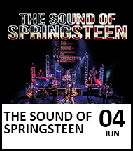 Booking link for The Sound of Springsteen on 4 June 2021