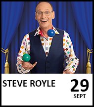 Booking link for The (Steve) Royle Variety Performance