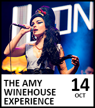 Booking link for Lioness – The Amy Winehouse Experience on 14th October 2021