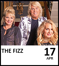 Booking link for The Fizz on 17th April 2021