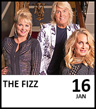 Booking link for The Fizz on 16 January 2021