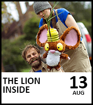 Booking link The Lion Inside on 13 August 2021