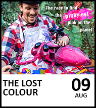 Booking link for The Lost Colour on 9 August 2021