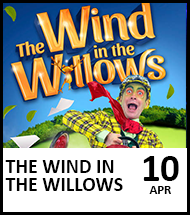 Booking link for The Wind in the Willows on 10th April 2022