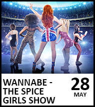 Booking link for Wannabe - The Spice Girls Show on 28 May 2021