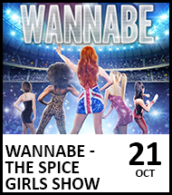 Booking link for Wannabe - The Spice Girls Show on 21 October 2021