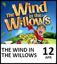 Booking link for The Wind in the Willows on 12 April 2021