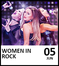 Booking link for Women in Rock on 5 June 2021
