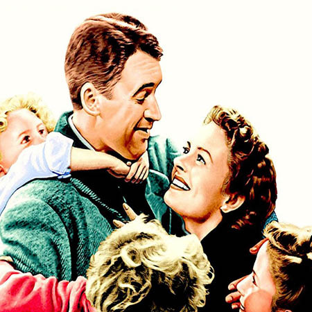 The Bailey family from It's A Wonderful Life