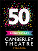 Camberley Theatre 50th anniversary logo