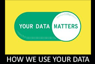 How we use your data